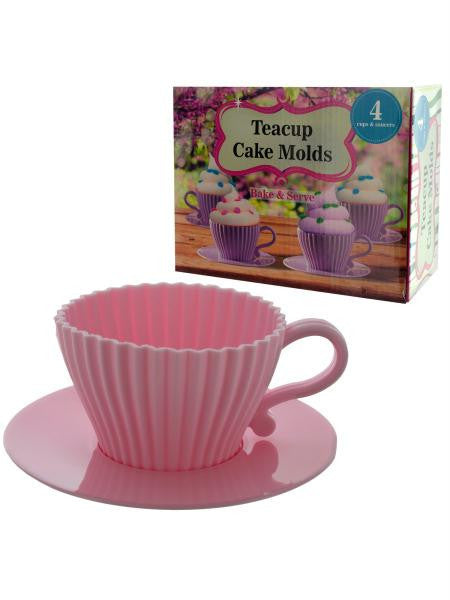Teacup Cake Molds (Available in a pack of 12)
