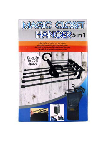 5-in-1 Magic Closet Hanger (Available in a pack of 4)