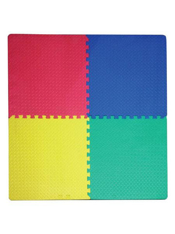 Foam Play Mat with Interlocking Squares (Available in a pack of 1)