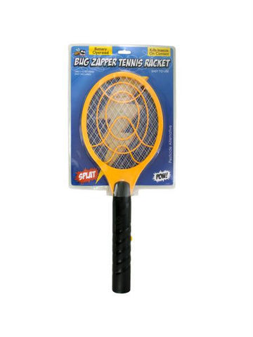 Battery Operated Bug Zapper Tennis Racket (Available in a pack of 4)