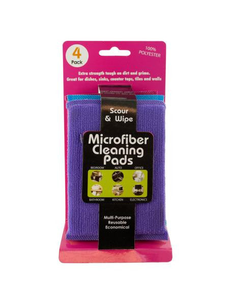 Multi-Purpose Microfiber Cleaning Pads (Available in a pack of 12)