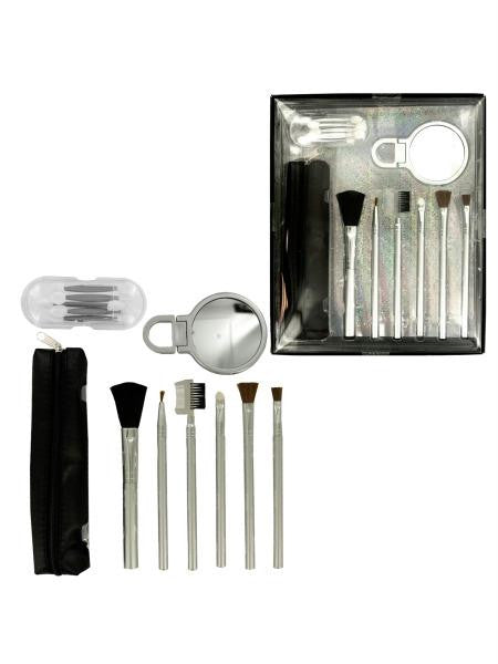 Cosmetic Brush Set (Available in a pack of 4)