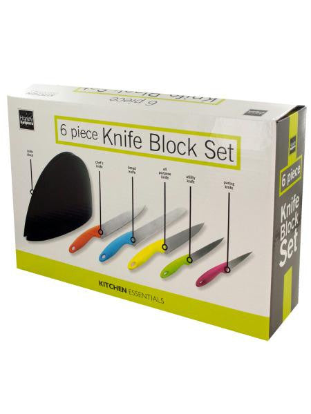 Knife Block Set (Available in a pack of 1)
