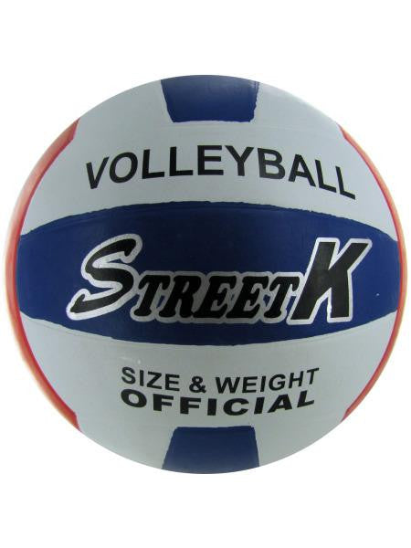Official Size and Weight Volleyball (Available in a pack of 1)