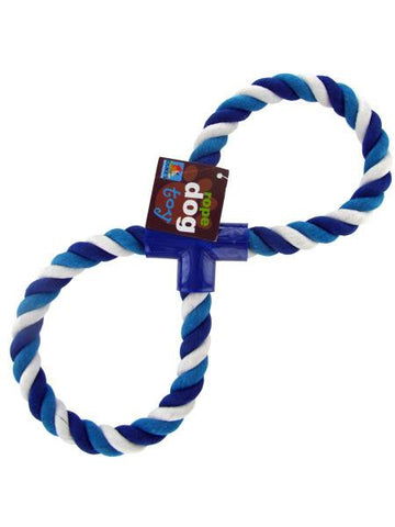 Figure Eight Dog Rope Toy (Available in a pack of 12)