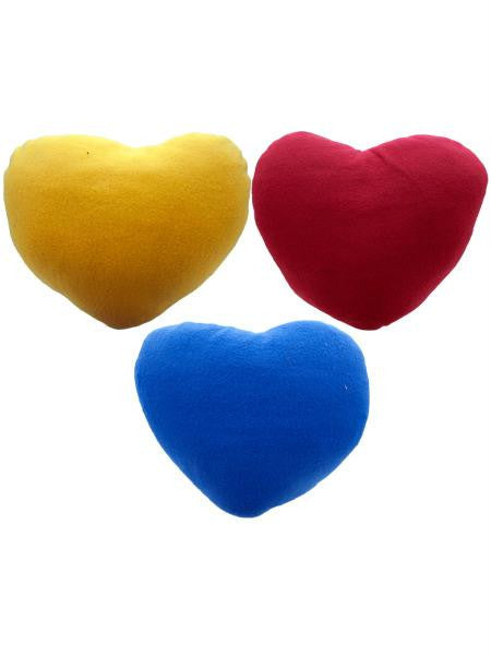 Heart Shaped Pillow (Available in a pack of 9)