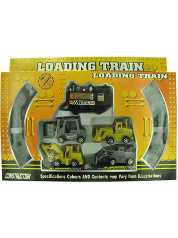 Construction Loading Train Set (Available in a pack of 4)
