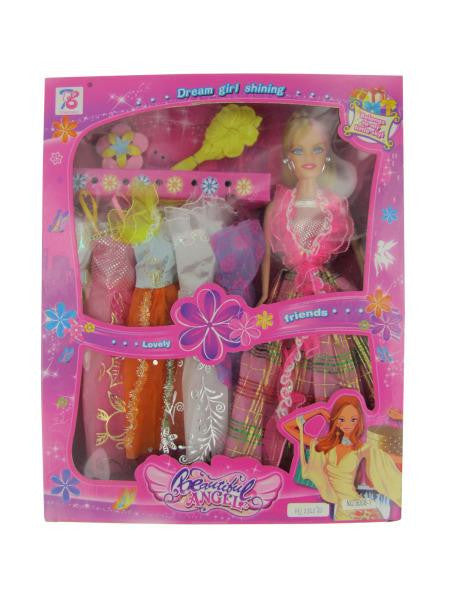 Fashion Doll with Dresses (Available in a pack of 1)