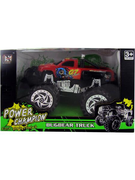 Friction Big Wheel Super Power Pickup Truck (Available in a pack of 3)