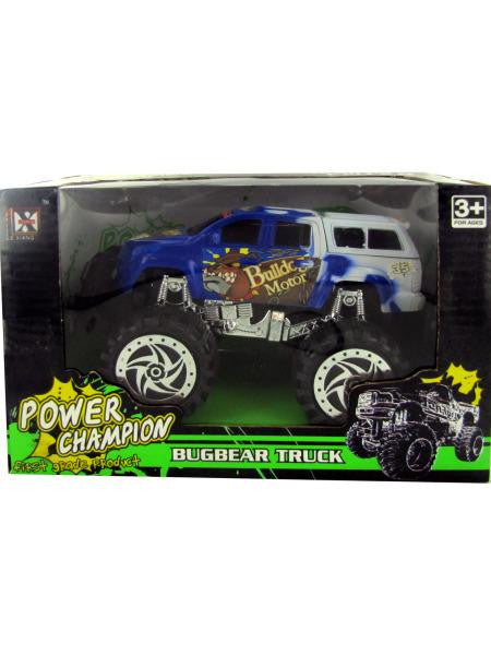 Friction Big Wheel Super Power Truck (Available in a pack of 3)
