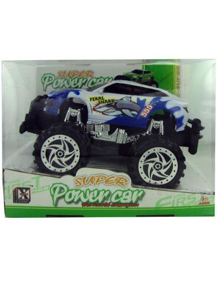 Friction Big Wheel Super Power Car (Available in a pack of 3)