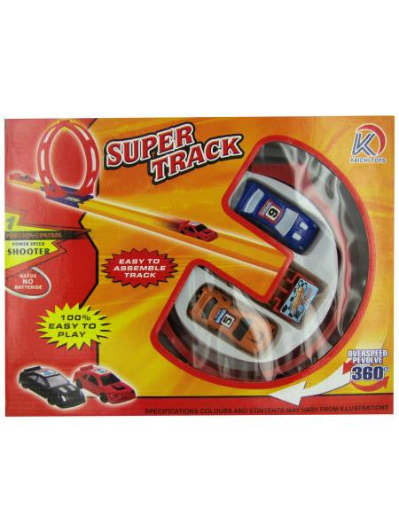 Super Track Launch Racer Set (Available in a pack of 4)