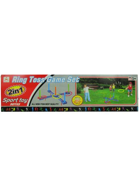 Ring Toss Game Set (Available in a pack of 4)