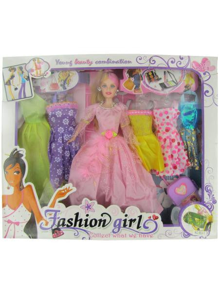 Fashion Girl Doll with Dresses (Available in a pack of 1)