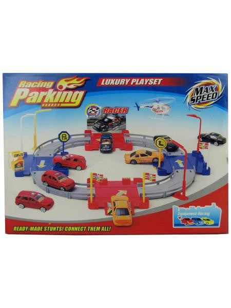 Racing & Parking Play Set (Available in a pack of 2)