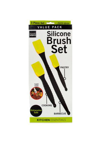 Silicone Cooking Brush Set (Available in a pack of 4)