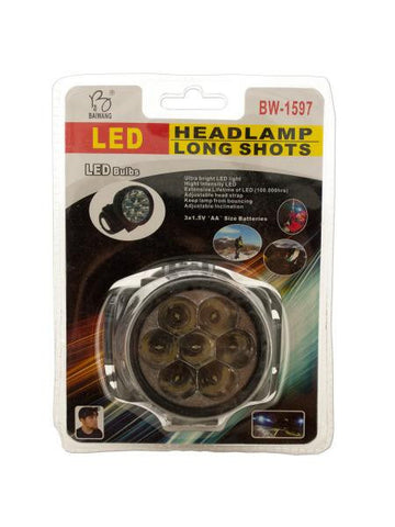 LED Headlamp (Available in a pack of 5)