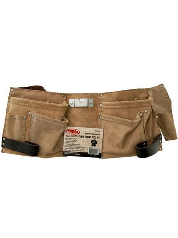 Heavy Duty Double Pocket Tool Belt (Available in a pack of 1)