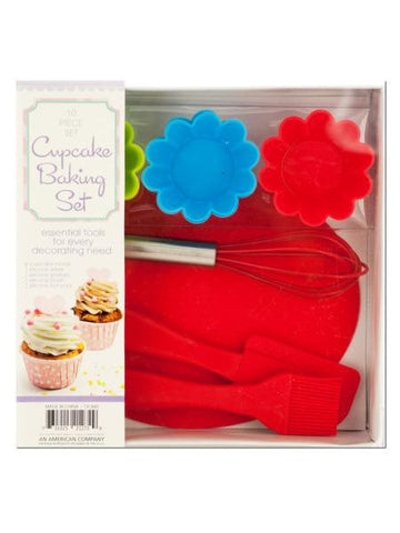 Silicone Cupcake Baking Set (Available in a pack of 1)