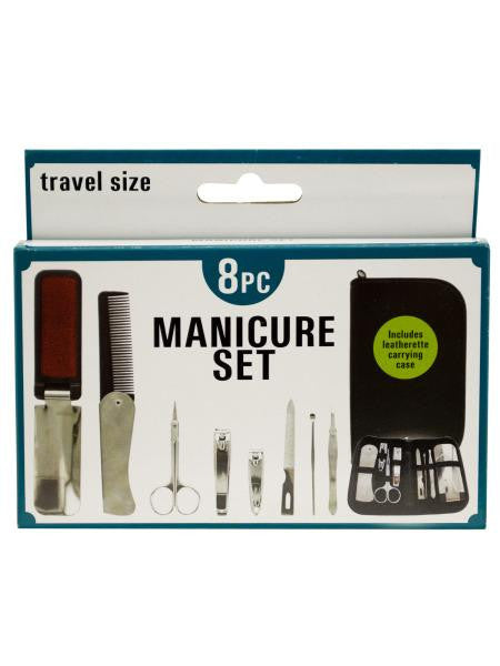 Travel Size Manicure Set in Carrying Case (Available in a pack of 4)