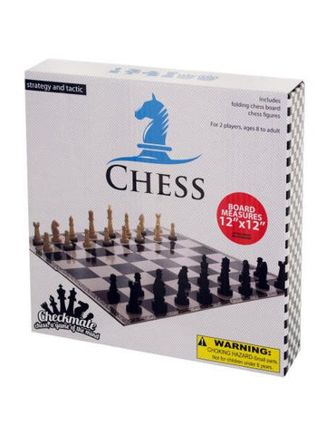 Folding Chess Game (Available in a pack of 10)