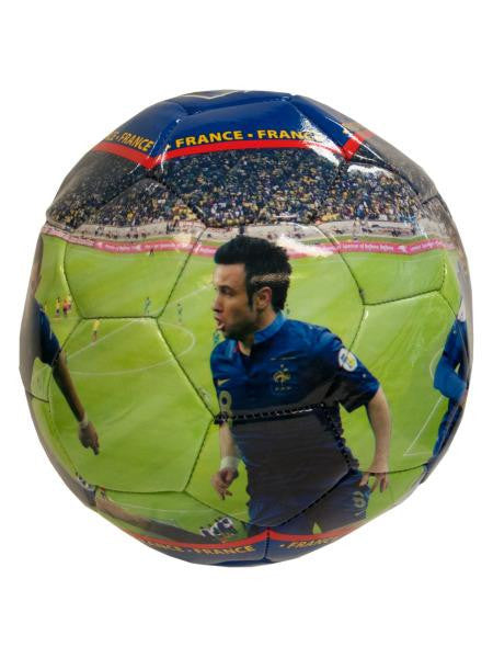 France Photo PVC Soccer Ball (Available in a pack of 1)