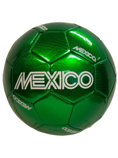 Mexico Laser PVC Soccer Ball (Available in a pack of 1)