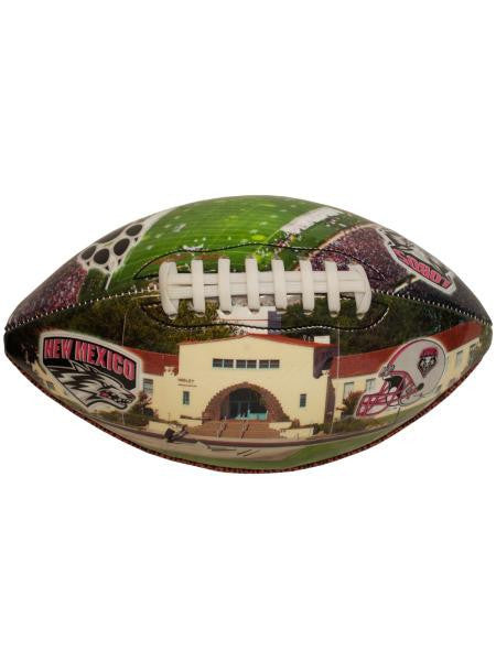 University of New Mexico Deflated Football (Available in a pack of 1)