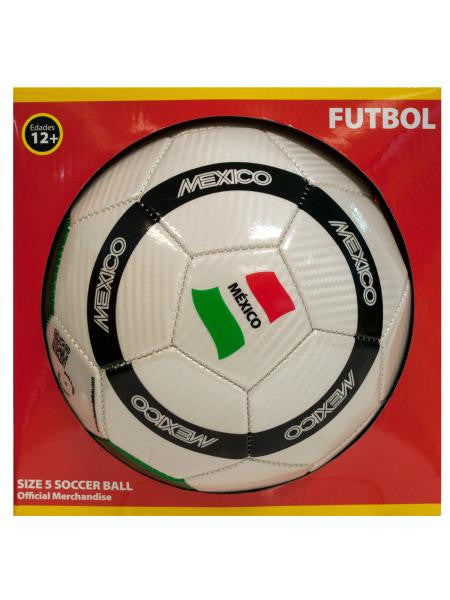 Mixed Laser PVC Soccer Ball (Available in a pack of 1)