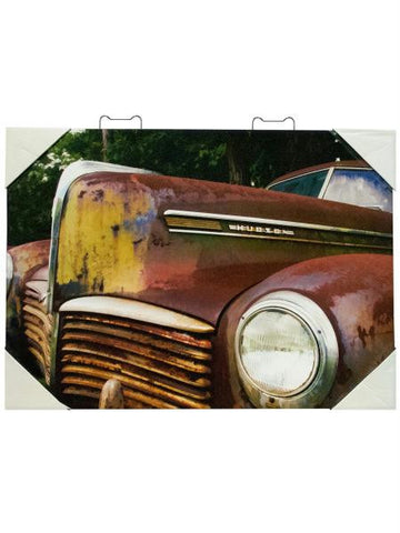 Classic Car Artwork Canvas (Available in a pack of 1)