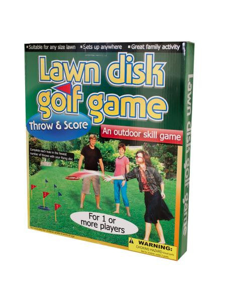 Lawn Disc Golf Game (Available in a pack of 1)