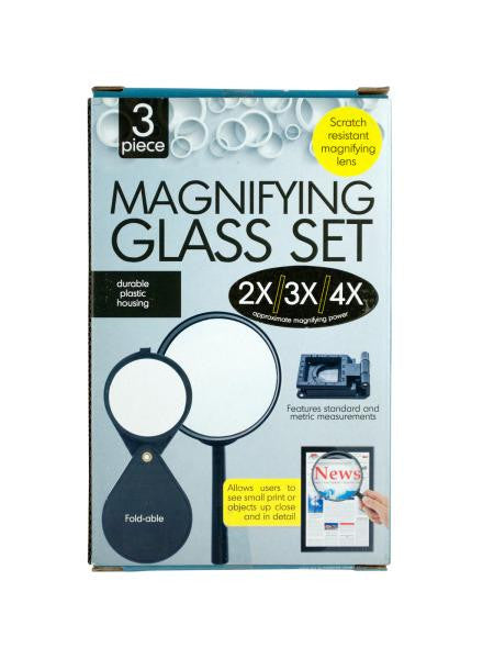 Magnifying Glass Set (Available in a pack of 5)