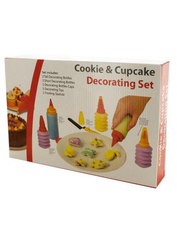 Cookie and Cupcake Decorating Set (Available in a pack of 1)