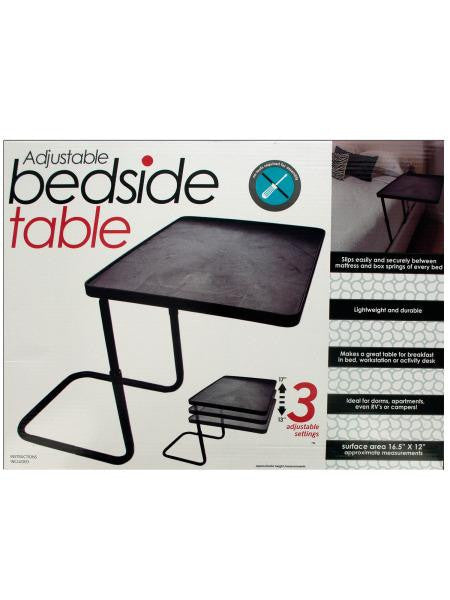 Multi-Purpose Adjustable Bedside Table (Available in a pack of 1)