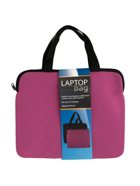 Neoprene Laptop Bag with Handles (Available in a pack of 6)