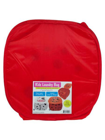 Kids Ladybug Laundry Bag (Available in a pack of 6)