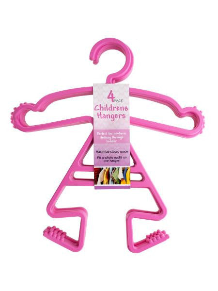 Baby Girls Clothes Hanger Set (Available in a pack of 4)