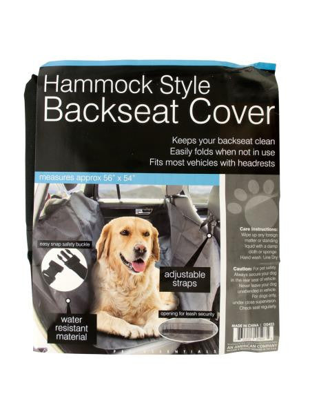 Hammock Style Backseat Cover (Available in a pack of 1)