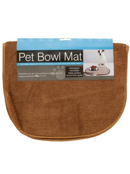 Large Pet Bowl Mat (Available in a pack of 4)