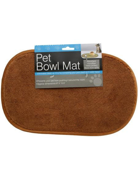Small Pet Bowl Mat (Available in a pack of 12)
