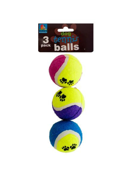Dog Tennis Balls Set (Available in a pack of 12)