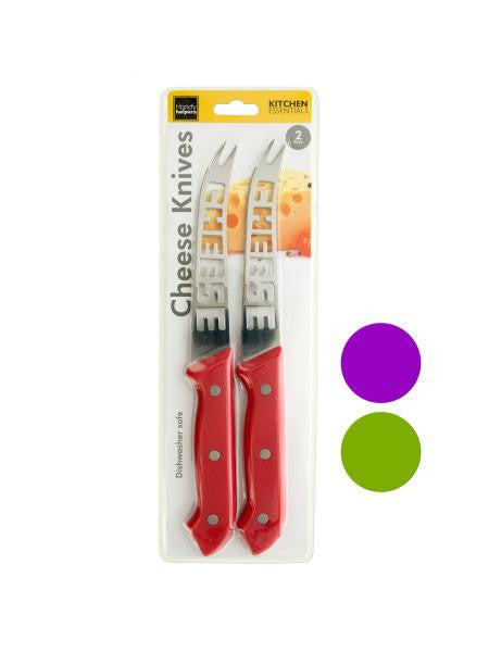 Stainless Steel Cheese Knives Set (Available in a pack of 4)