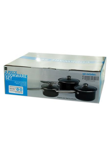 Steel Non-Stick Saucepan Cookware Set (Available in a pack of 1)