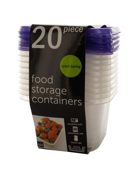 Square Food Storage Containers Set (Available in a pack of 4)