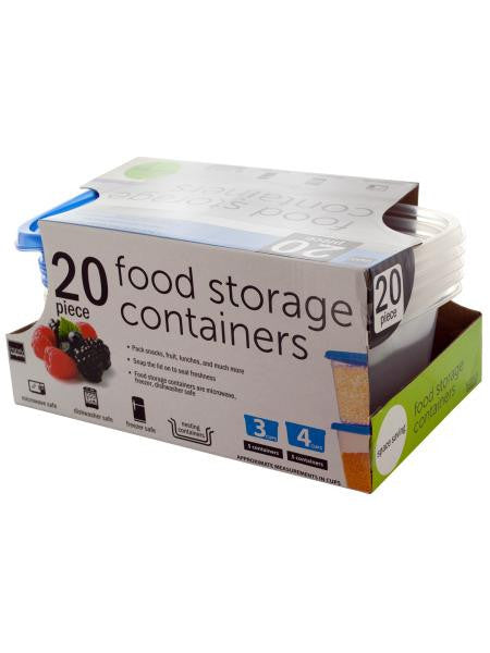 Food Storage Containers Set (Available in a pack of 4)