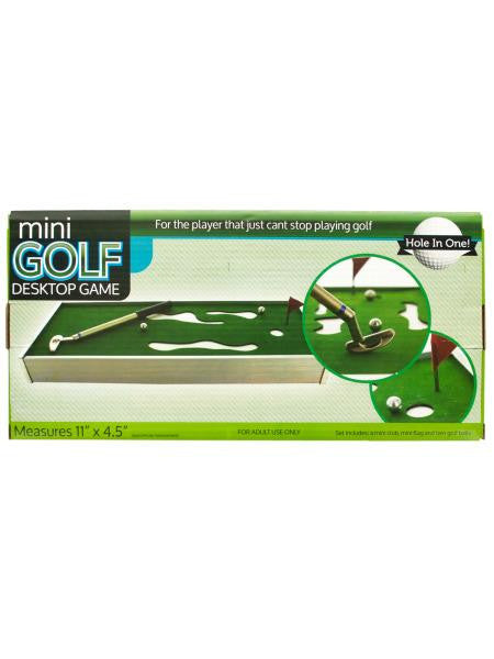 Mini Golf Desktop Game (Available in a pack of 1)