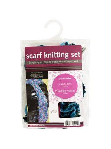 Scarf Knitting Set (Available in a pack of 4)