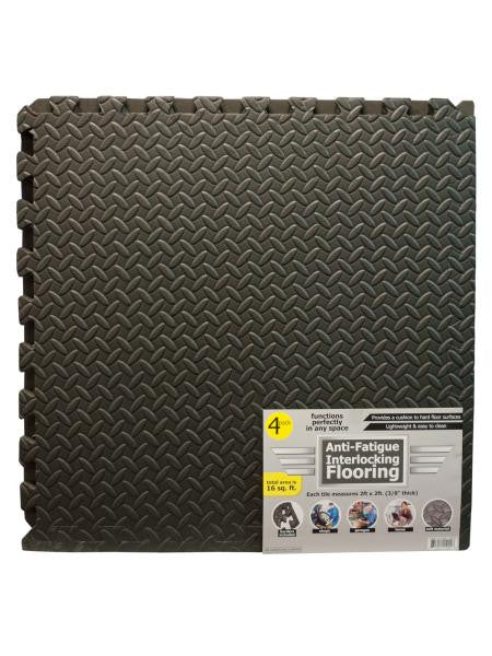 Anti-Fatigue Textured Interlocking Flooring Set (Available in a pack of 1)