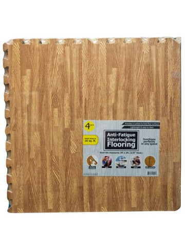 Anti-Fatigue Interlocking Flooring Set (Available in a pack of 1)