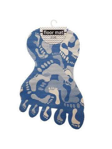 Foot Shaped Floor Mat (Available in a pack of 6)
